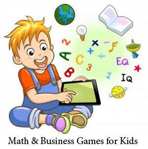 Math & Business Games for Kids