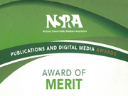 NSPRA Award of Merit