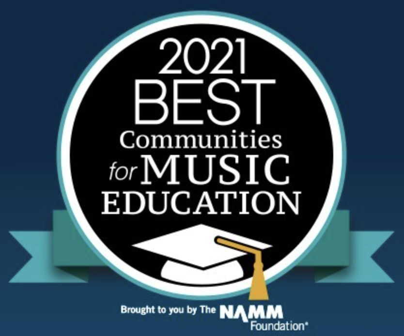 2021 Best Community for Music Education