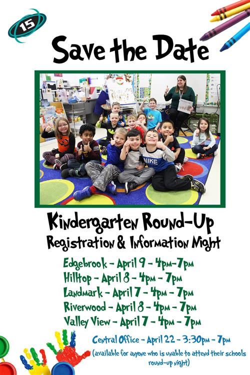 Save the Date: Kindergarten Registration and Information Night
