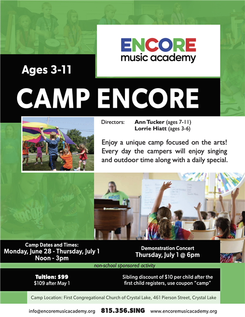 camp encore
